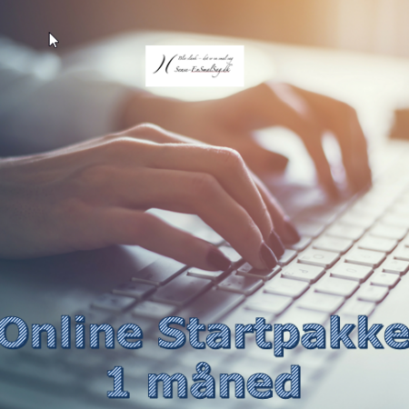 Online Startpakke 1 måned